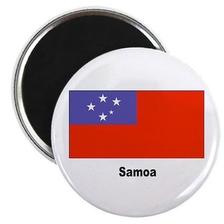 """Samoa Samoan Flag 2.25"""" Magnet (10 pack)"""