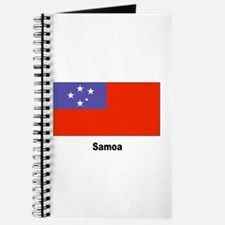 Samoa Samoan Flag Journal