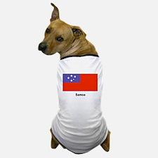 Samoa Samoan Flag Dog T-Shirt