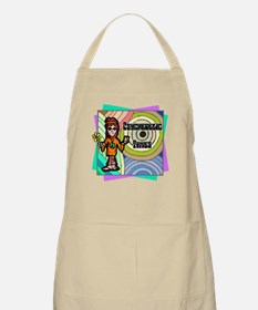 Psychedelic Times BBQ Apron