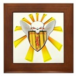 Royal Scottish Defender Framed Tile