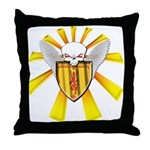 Royal Scottish Defender Throw Pillow