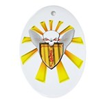 Royal Scottish Defender Ornament (Oval)