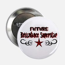 Future Bellydance Star Button
