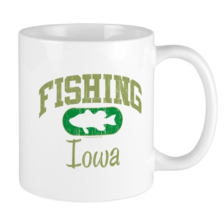 FISHING IOWA Mug