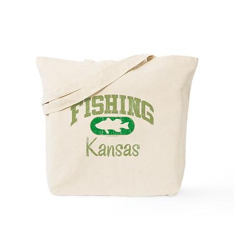 FISHING KANSAS Tote Bag