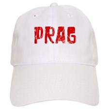 Prag Faded (Red) Baseball Cap