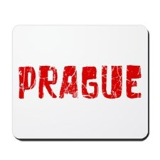 Prague Faded (Red) Mousepad