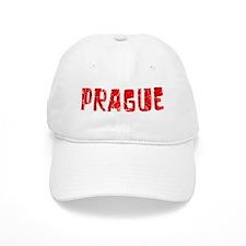 Prague Faded (Red) Baseball Cap