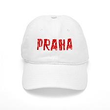 Praha Faded (Red) Baseball Cap