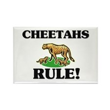 Cheetahs Rule! Rectangle Magnet