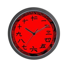 Chinese Numbers on a Wall Clock