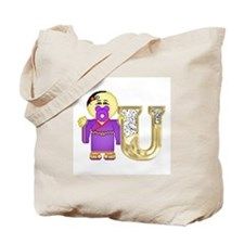 Baby Initials - U Tote Bag