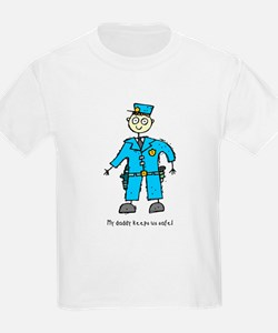 Daddy's a Policeman T-Shirt