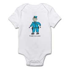 Daddy's a Policeman Infant Bodysuit