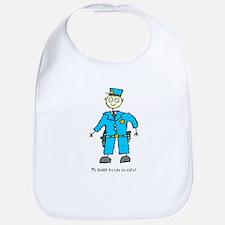 Daddy's a Policeman Bib