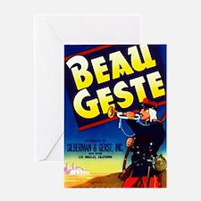 Cute Beau Greeting Card