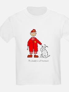 Daddy's a Fireman T-Shirt