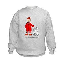 Daddy's a Fireman Sweatshirt