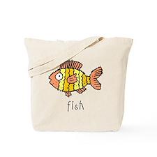 Funny Fish Tote Bag