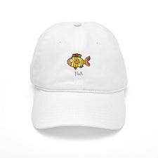 Funny Fish Baseball Cap