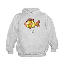 Funny Fish Hoodie