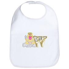 Baby Initials - W Bib