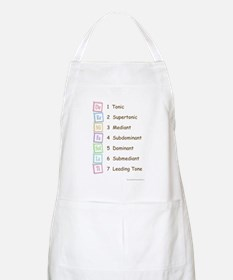 Tones of the Scale BBQ Apron
