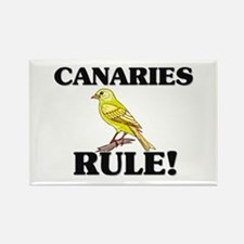 Canaries Rule! Rectangle Magnet