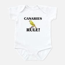 Canaries Rule! Infant Bodysuit