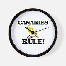 Canaries Rule! Wall Clock