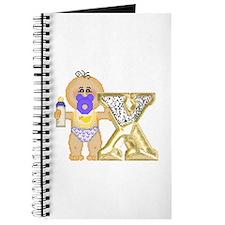 Baby Initials - X Journal