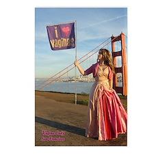 San Francisco Vagina Postcards (Package of 8)