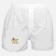 Baby Initials - X Boxer Shorts