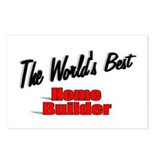 """The World's Best Home Builder"" Postcards (Package"