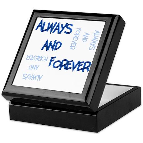 Always and Forever Keepsake Box