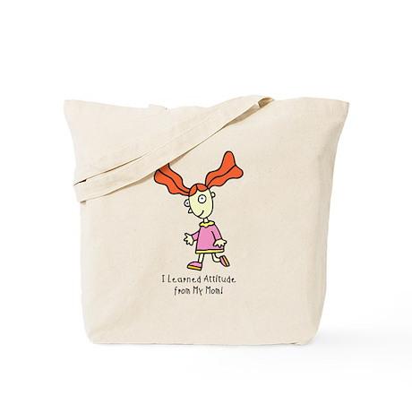 Attitude Girl Tote Bag