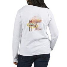 Welcome to Jericho Kansas Womens Long Sleeve Shirt
