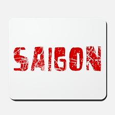 Saigon Faded (Red) Mousepad