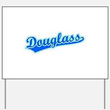 Retro Douglass (Blue) Yard Sign