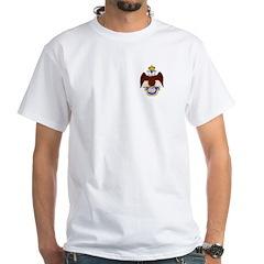 SR Crest White T-Shirt