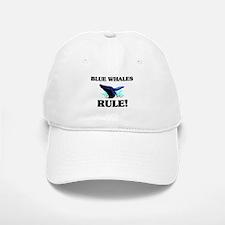 Blue Whales Rule! Baseball Baseball Cap