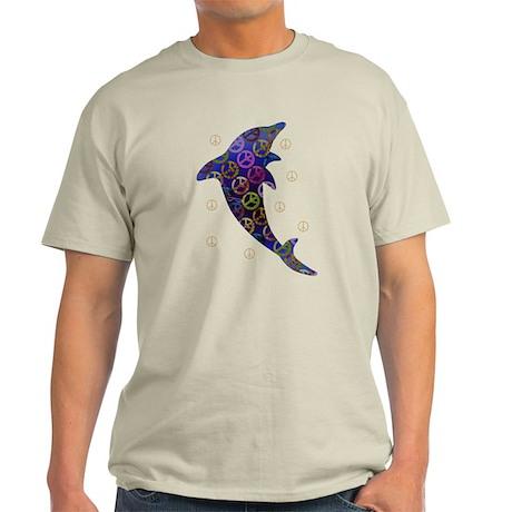 Dolphin Peace - Thursday Light T-Shirt