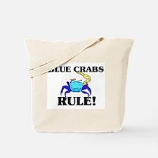 Blue Crabs Rule! Tote Bag