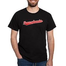 Retro Pennsylvania (Red) T-Shirt