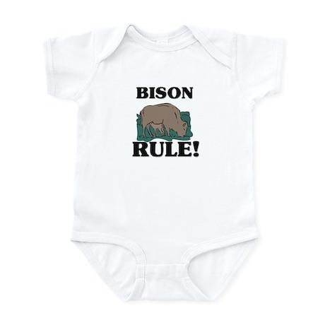 Bison Rule! Infant Bodysuit