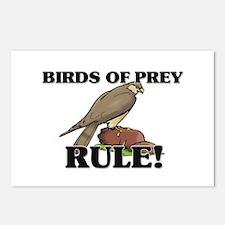 Birds Of Prey Rule! Postcards (Package of 8)