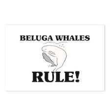 Beluga Whales Rule! Postcards (Package of 8)