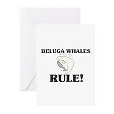 Beluga Whales Rule! Greeting Cards (Pk of 10)