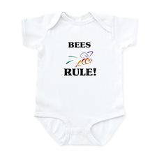 Bees Rule! Infant Bodysuit